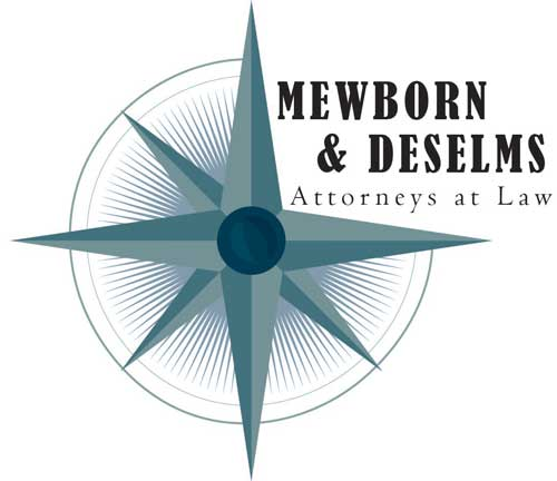 Mewborn & DeSelms, Attorneys at Law Logo